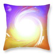 Light Source Throw Pillow
