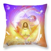 Miracle Blessing Throw Pillow