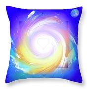 5d Activation Portal Throw Pillow