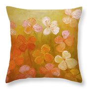 Golden Offspring Throw Pillow