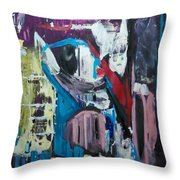 Apparitions, Ghosts  And Grottos Throw Pillow