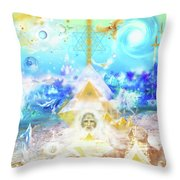 The Divine Masculine Throw Pillow