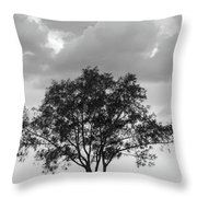 Jetty Tree Throw Pillow