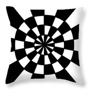 Op Art Throw Pillow by Methune Hively