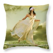 Blind Faith Throw Pillow