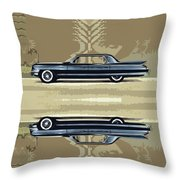 1961 Cadillac Fleetwood Sixty-special Throw Pillow by Bruce Stanfield