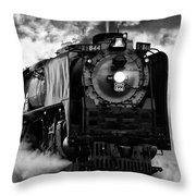 Up 844 Steaming It Up Throw Pillow
