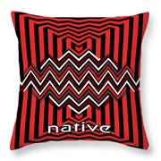 Native Throw Pillow