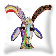 Somebody Got Your Goat? Throw Pillow