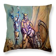 Gypsies Part 1 Throw Pillow