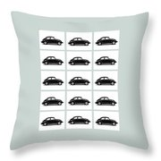 Vw Theory Of Evolution Throw Pillow by Mark Rogan