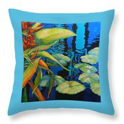 Pond 1 Pond Series Throw Pillow