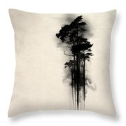 Enchanted Forest Throw Pillow by Nicklas Gustafsson