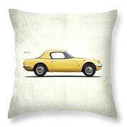Lotus Elan 1963 Throw Pillow
