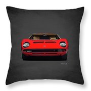 The Miura Throw Pillow