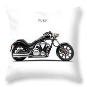 Honda Fury Throw Pillow