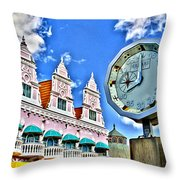 Aruba Time Throw Pillow