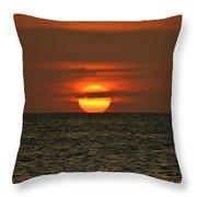 Arubian Sunset Throw Pillow