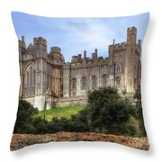 Arundel Castle Throw Pillow