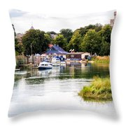 Arundel Throw Pillow by Trevor Wintle
