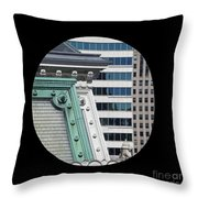 As A Bird Sees Philly Throw Pillow