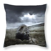As Darkness Fades Throw Pillow