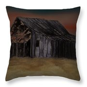 As Darkness Falls Throw Pillow