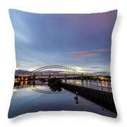 As Day Turns To Night Throw Pillow