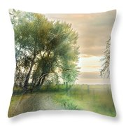 As Days Go By Throw Pillow