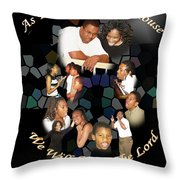 As For My House Throw Pillow