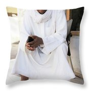As I Hold My Mind Throw Pillow
