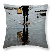 as I walk I bring what i have Throw Pillow