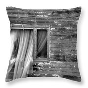As If A Ghost Throw Pillow