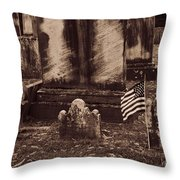 As Old As It Looks Throw Pillow