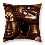 As One Throw Pillow