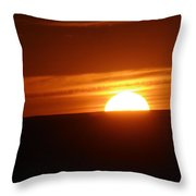 As The Day Settles Throw Pillow