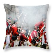 As The Smoke Clears Throw Pillow