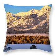 As The Sun Comes Up Throw Pillow