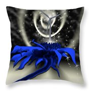As The Wind Blows Things Grow  Throw Pillow