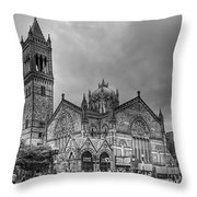 As The World Passes By... Throw Pillow