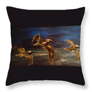 As We Fly Throw Pillow