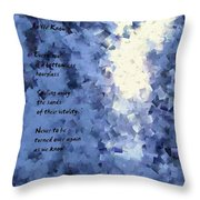 As We Know  Throw Pillow