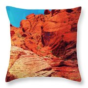 Ascension Throw Pillow by Michelle Dallocchio