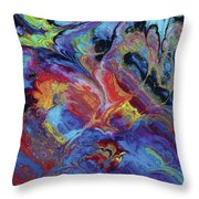 Ascetic Combustion Throw Pillow