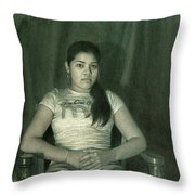 Ash Throw Pillow