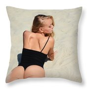 Ash341 Throw Pillow