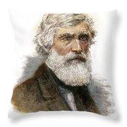 Asher B. Durand, 1796-1886 Throw Pillow