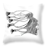 Ashes 2 Ashes  Throw Pillow