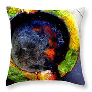 Ashes Throw Pillow