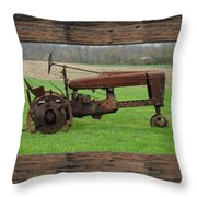 Ashes To Ashes - Rust To Rust Throw Pillow